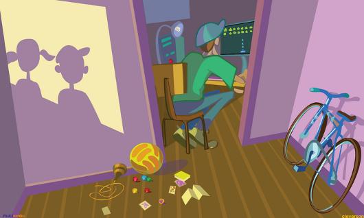 ilustração game