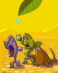 ilustração dia da água