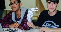 thumb construindo programando robôs